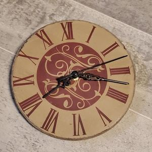 Wooden Small Wall Clock